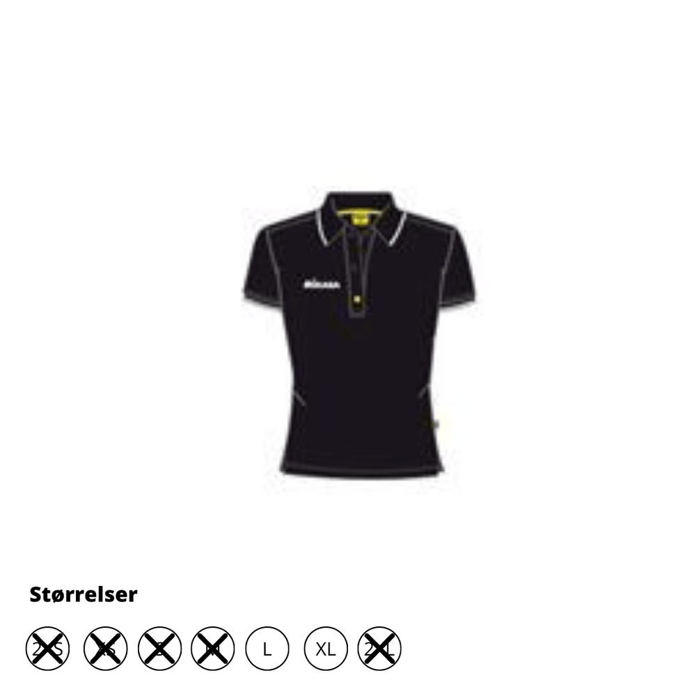 Woman Polo - Sort - Ema - Restsalg