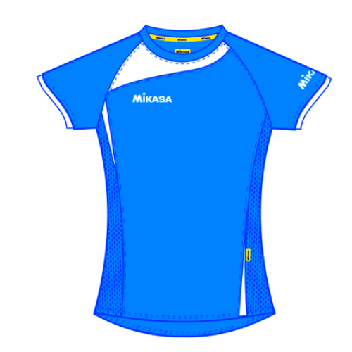 Mikasa - Dame Volley Shirt - Kiora - Royal Blue