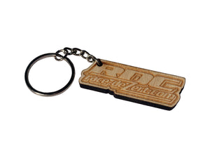 RDC Wood Keychain