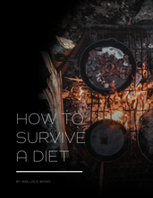 Load image into Gallery viewer, HOW TO SURVIVE A DIET eBook