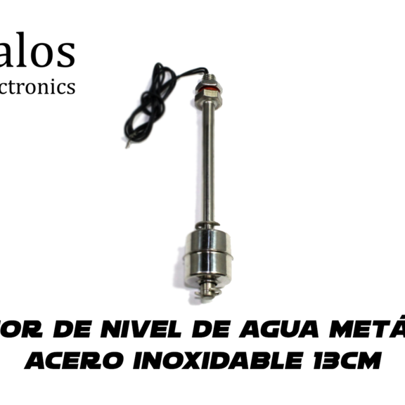 Sensor de nivel Vertical inoxidable