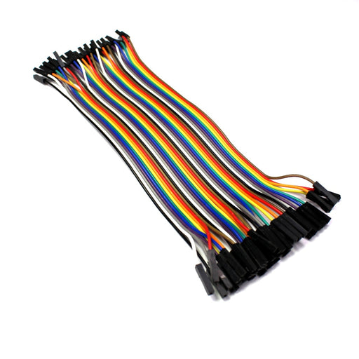 40 Cables Dupont Hembra a Hembra 20 cm