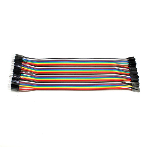 40 Cables Dupont Macho a Hembra 20 cm