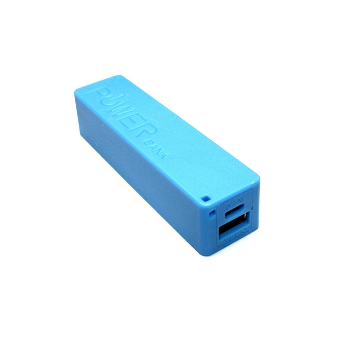 Batería de Respaldo Power Bank 5V 2600 mAh