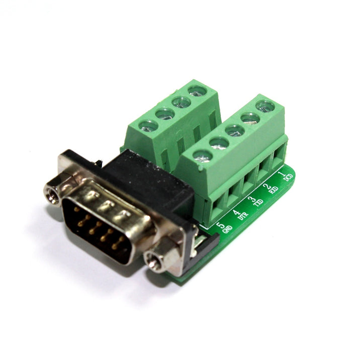 Adaptador/Conector RS232 D-SUB DB9 Macho