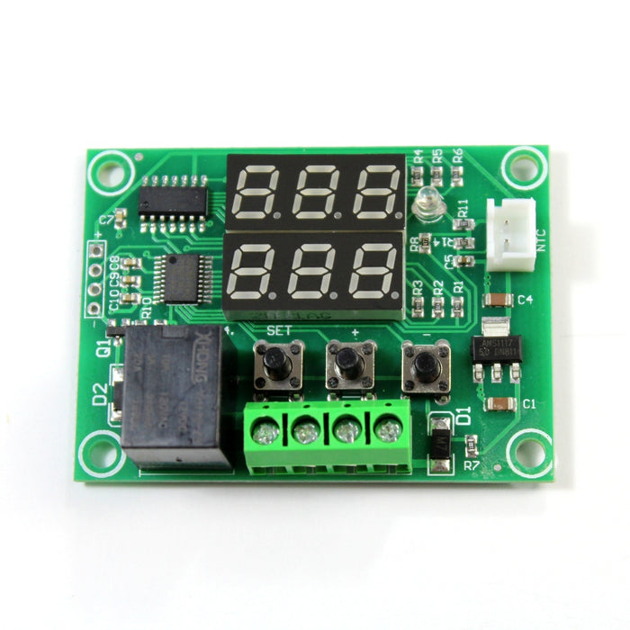 Controlador digital de temperatura XH-W1219 con doble display