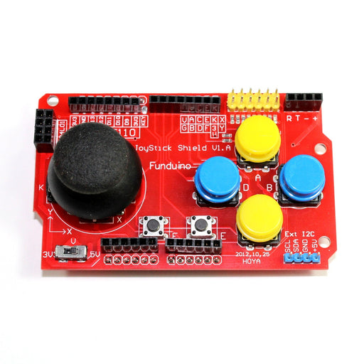 Game Joystick Arduino Shield