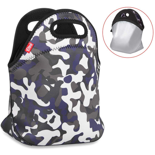 100% Waterproof Lunch Bag - Camouflage