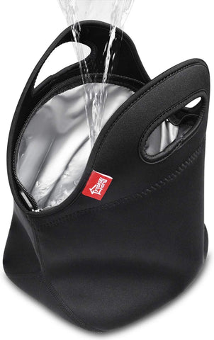 100% Waterproof Lunch Bag - Black