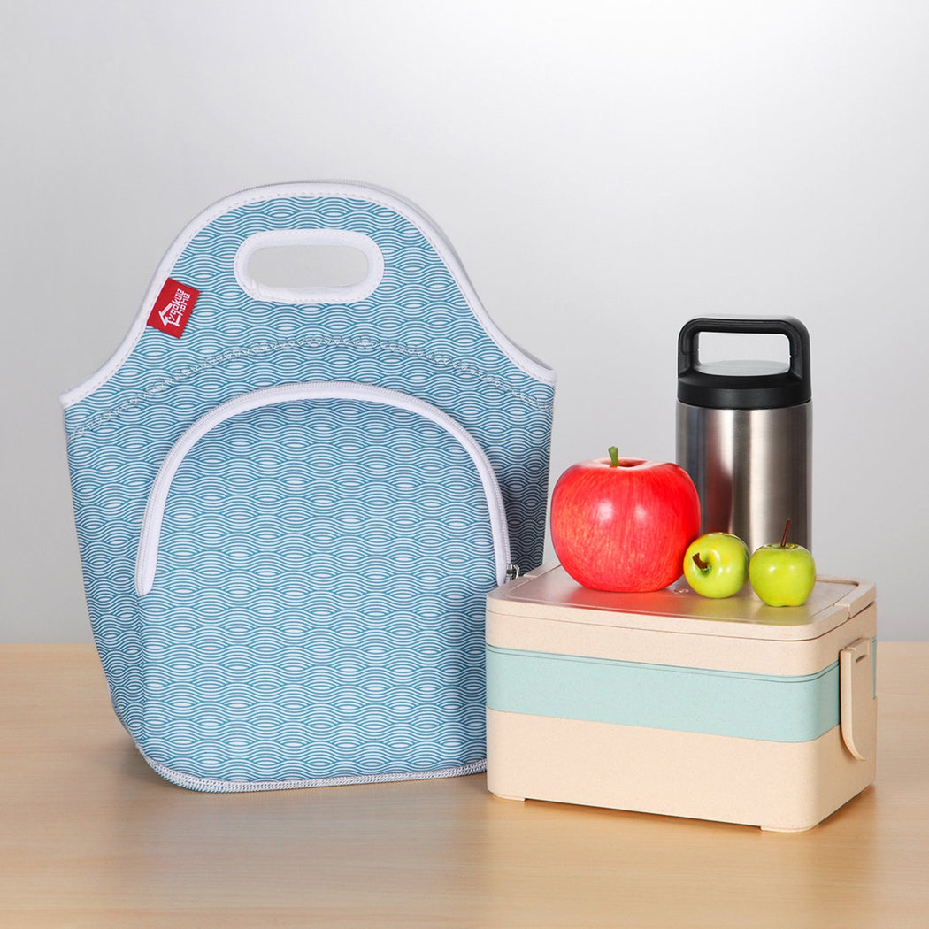 Insulated Lunch Bag - Small - Wave