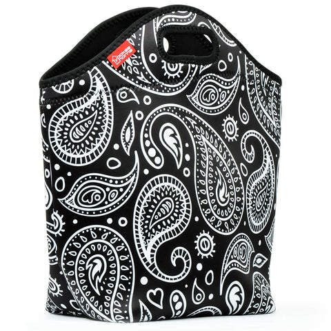 Insulated Lunch Bag - Large - Paisley