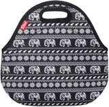 Insulated Lunch Bag - Small -Elephant