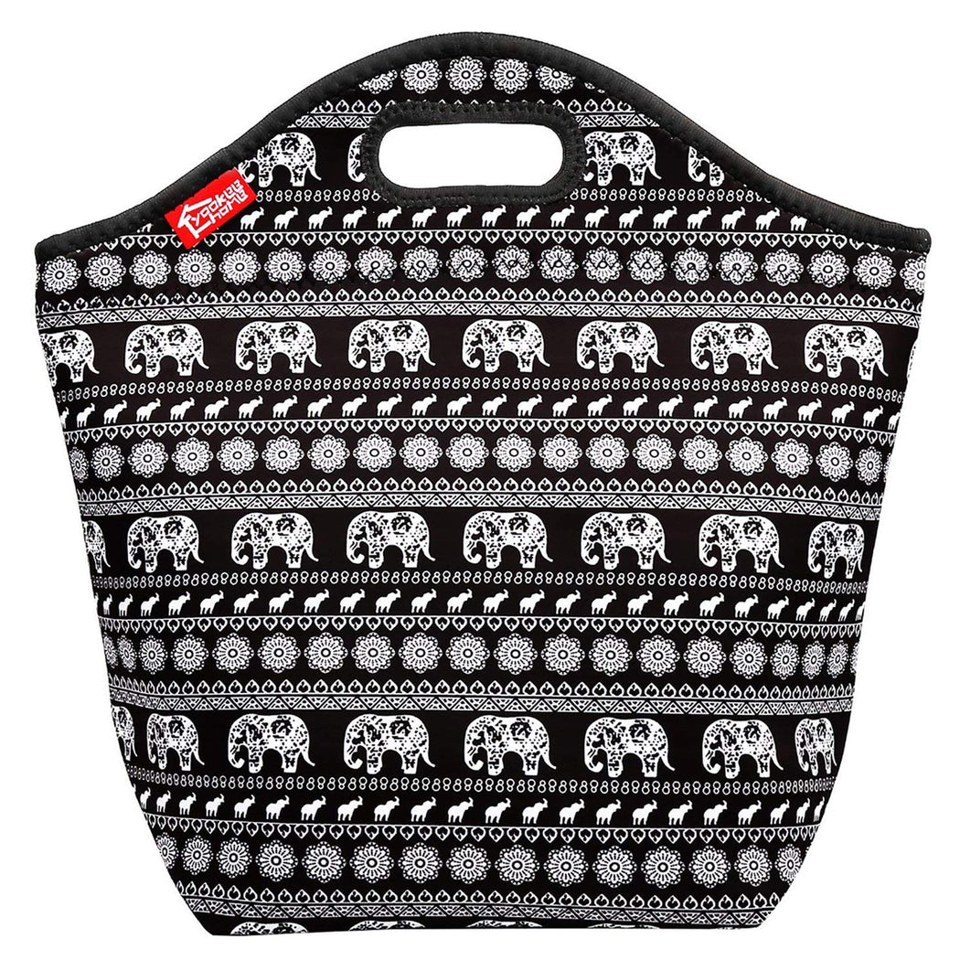 Insulated Lunch Bag - Large - Elephant