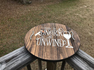 "Lazy Susan ""Uncork and Unwind"""