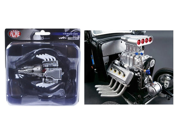 1:18 Blown Hemi Engine + Transmission -- ACME