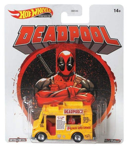 Hot Wheels -- Deadpool Chimichanga Truck -- Retro Entertainment