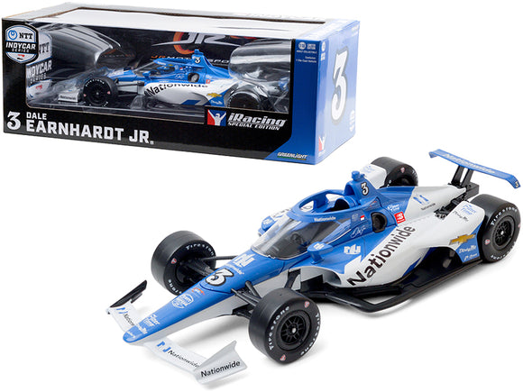 1:18 2020 Indy Car -- #3 Dale Earndhardt Jr iRacing -- Greenlight