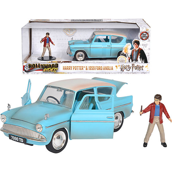 1:24 Harry Potter w/ 1959 Ford Anglia -- Hollywood Bombshells JADA