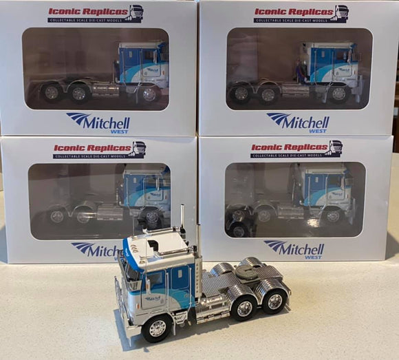 1:50 Kenworth K100G -- Mitchell Fuel -- Iconic Replicas Diecast Truck