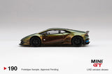 (Pre-Order) 1:64 Lamborghini Huracan LB☆WORKS -- Version 2, Magic Bronze -- Mini GT