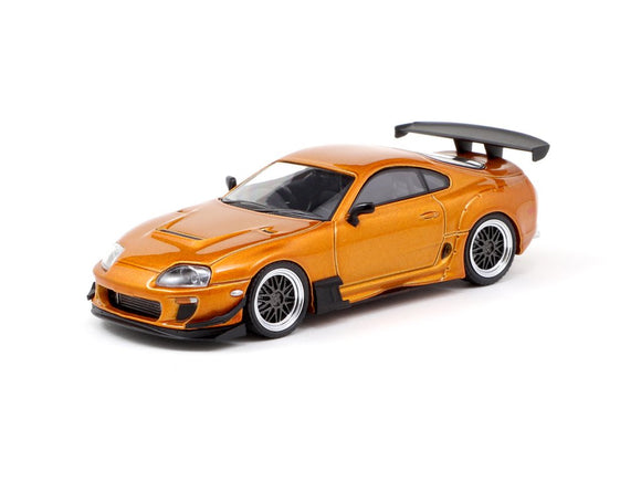 1:64 Toyota Supra JZA80 RZ -- Orange Metallic -- Ignition Model IG1864
