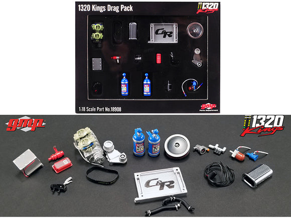 1:18 GMP 1320 Kings -- Drag Accessory Pack -- GMP