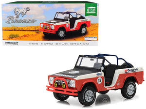 1:18 1966 Ford Baja Bronco -- #37 BF Goodrich -- Greenlight