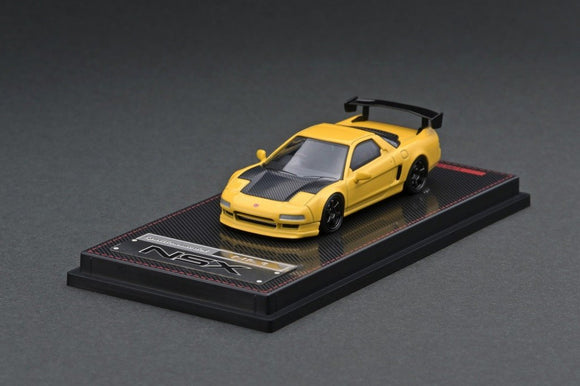 1:64 Honda NSX (NA1) -- Matte Yellow -- Ignition Model IG1945