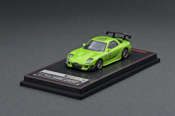 1:64 Mazda RX-7 (FD3S) RE Amemiya -- Green Metallic -- Ignition Model IG1947