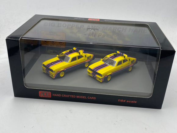 1:64 Mad Max -- XA & XB Ford Falcon V8 Interceptors -- Twin Set ACE Models