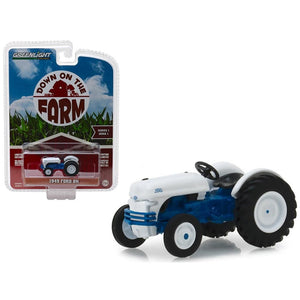 "1:64 1949 Ford 8N Tractor Blue and White ""Down on the Farm"" --  Greenlight"