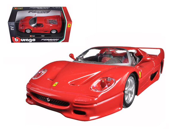 1:24 Ferrari F50 -- Red -- Bburago Race & Play