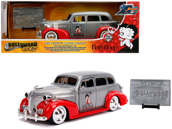 1:24 1939 Chevy Master Deluxe Betty Boop -- 20th Anniversary JADA Chevrolet