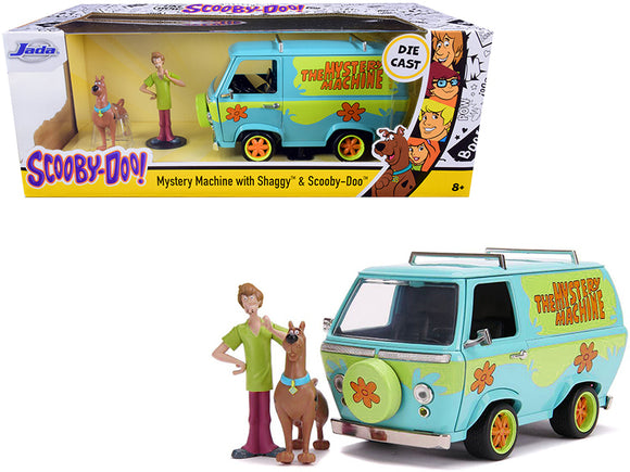 1:24 Mystery Machine w/Shaggy & Scooby Doo Figurines -- JADA