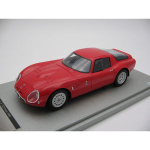 1:18 1965 Alfa Romeo TZ2 -- Press Red -- Tecnomodel