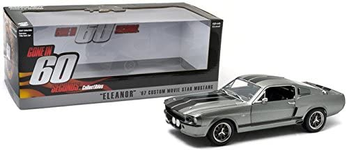1:18 1967 Ford Mustang Shelby GT500 -- Eleanor -- Gone in 60 Seconds