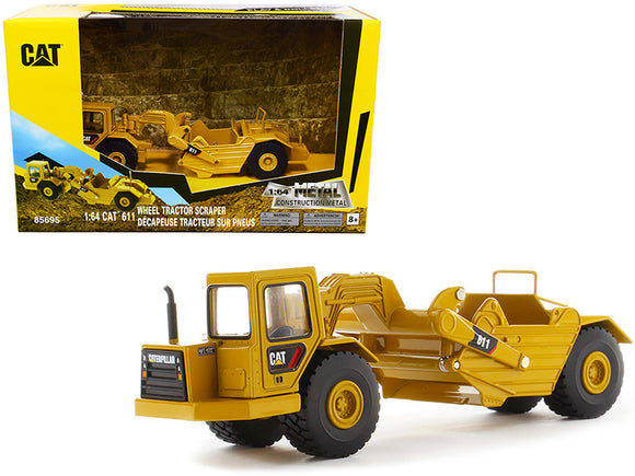 1:64 CAT 611 Wheel Tractor Scraper -- Diecast Masters Caterpillar