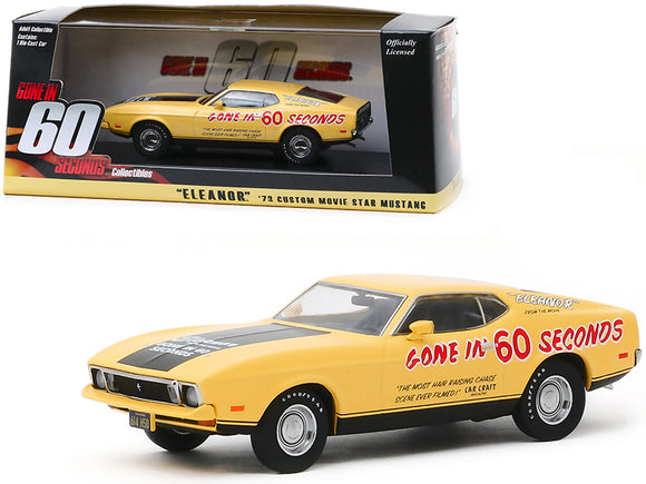 1:43 1973 Ford Mustang -- Eleanor Promo Car Gone in Sixty Seconds (1974)
