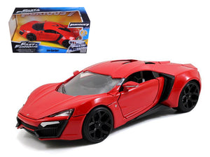 1:24 Lykan Hypersport -- Red -- Fast & Furious 7 -- Jada