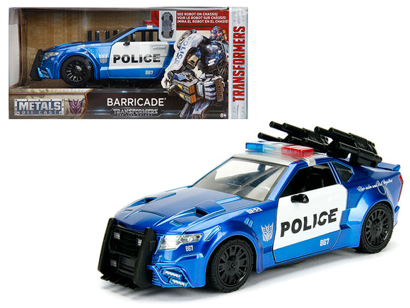 1:24 Barricade Ford Mustang -- Transformers -- Hollywood Rides JADA