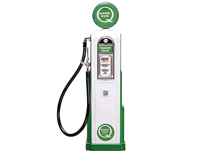 1:18 Quaker State -- Vintage Gas/Petrol Pump -- Road Signature (Square)