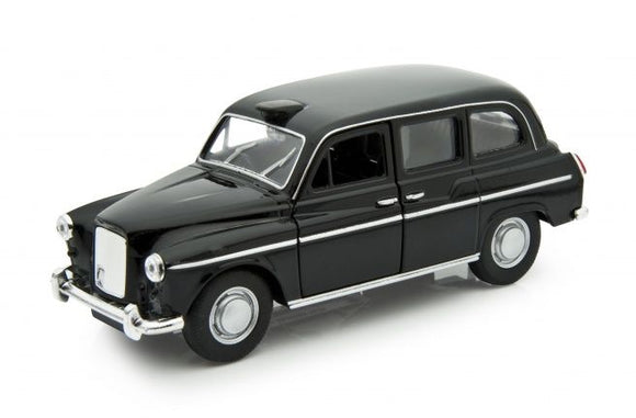 1:24 Austin FX4 -- Black London Taxi -- Welly