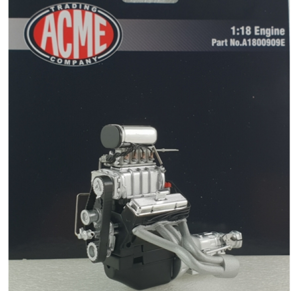 1:18 Chevrolet Supercharged Small Block Engine + Transmission -- GMP