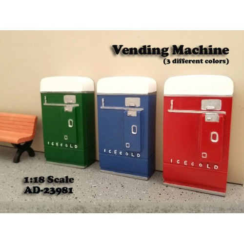 1:18 Vending Machine (Single pack) -- American Diorama Accesories
