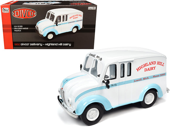 1:24 1950 DIVCO Van -- Highland Hill Dairy -- Auto World