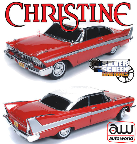 1:18 Christine -- 1958 Plymouth Fury -- Auto World