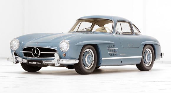 (Pre-Order) 1:12 1954 Mercedes-Benz 300SL -- Light Blue -- GT Spirit