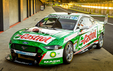 (Pre-Order) 1:43 2020 Bathurst -- Kelly/Wood -- Castrol Racing Ford Mustang -- Biante