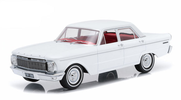 1:18 1965 Ford XP Falcon Sedan -- White -- DDA Greenlight