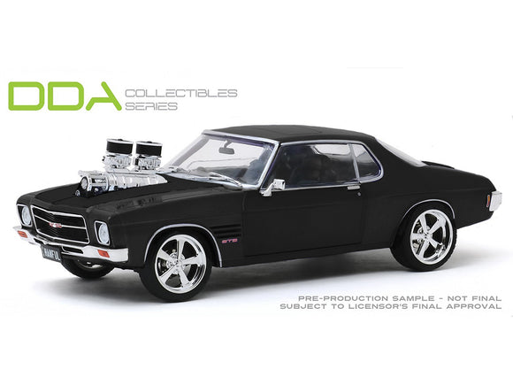 1:24 1973 Holden Monaro HQ GTS -- Black w/Supercharger -- DDA/Greenlight